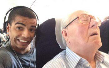 Selfie : Jean-Marie Le Pen porte plainte contre le danseur Brahim Zaibat