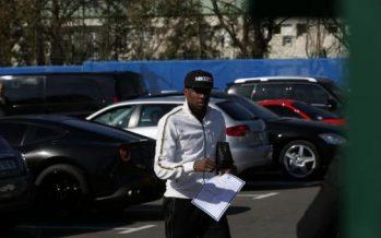 Le milieu de terrain du PSG Blaise Matuidi s'est fait voler son Range-Rover