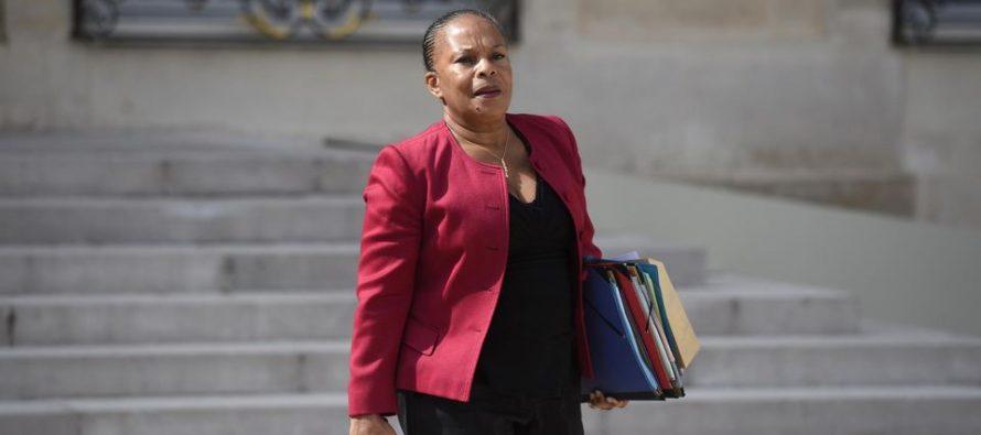 France : la ministre de la justice Christiane Taubira a démissionné