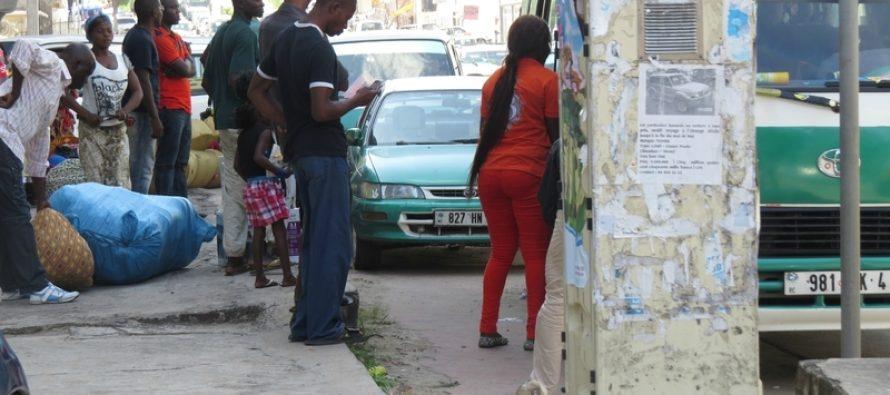Brazzaville : Confusion à la gare routière du marché Total à Bacongo