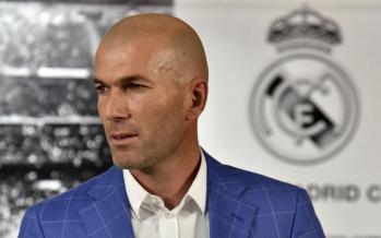Football: Zinédine Zidane nommé entraîneur du Real Madrid