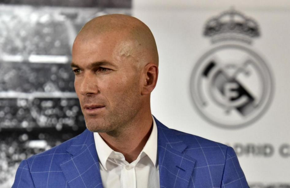 Le Real Madrid a nommé Zinédine Zidane entraîneur à la place de l'Espagnol Rafael Benitez, ce 4 janvier 2016.