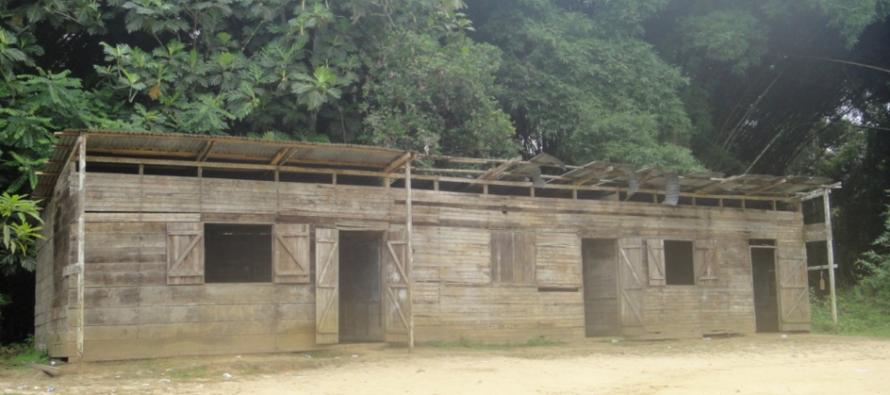 Brazzaville : l'école primaire de Mfilou est dans un état de délabrement