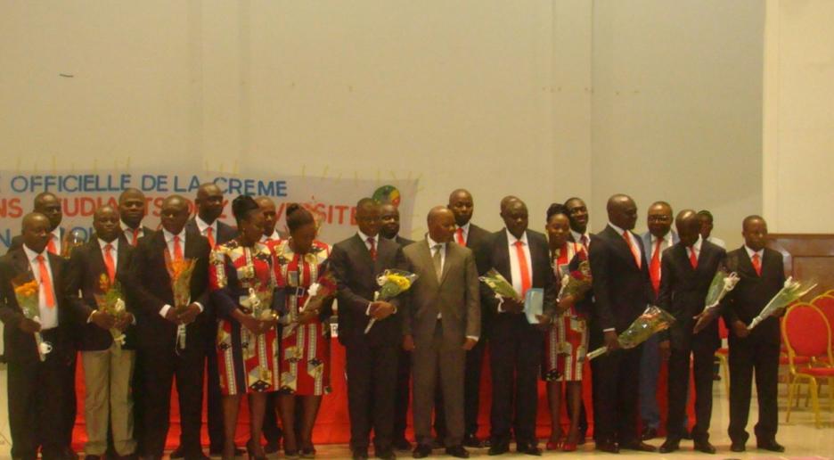 La Crème des anciens étudiants de l'université Marien-Ngouabi (CRANE) qui a fait sa sortie officielle le 9 janvier à Brazzaville au cours d'une cérémonie solennelle,