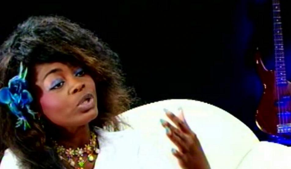La chanteuse de musique chrétienne Marie Misamu. Capture d'écran vidéo Youtube
