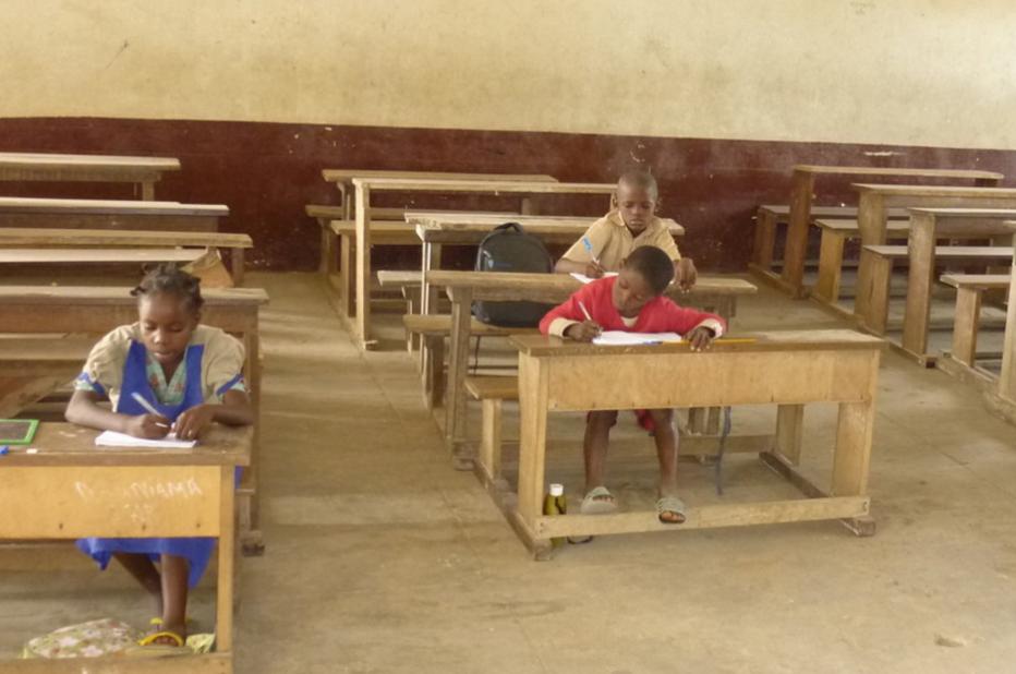Image d'archive|une salle de classe