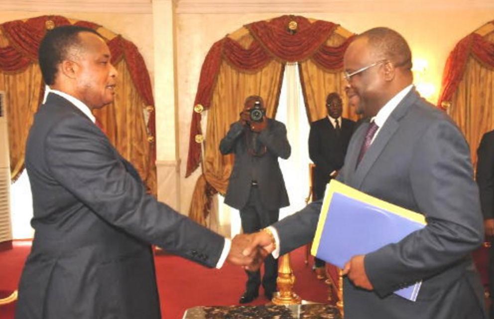 Denis Sassou N'Guesso et Guy Brice Parfait Kolelas