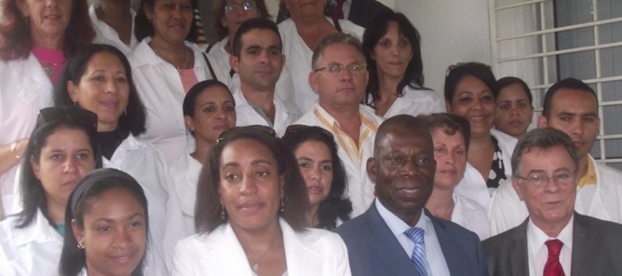 18 Médecins cubains pour servir dans les hôpitaux Congolais