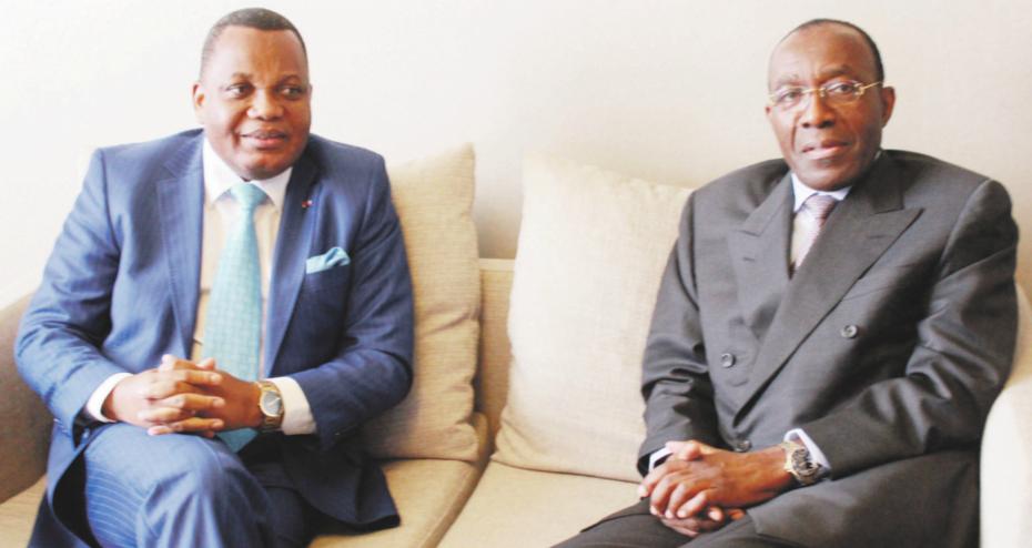 Jean-Claude Gakosso et Raymond Tshibanda