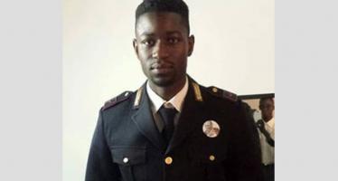 Fait inédit qui fâche en Italie: le sénégalais El Hadji Guèye, un noir devenu policier italien