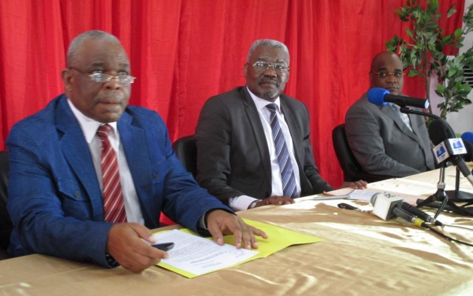 Une vue des représentants de l'IDC-Frocad