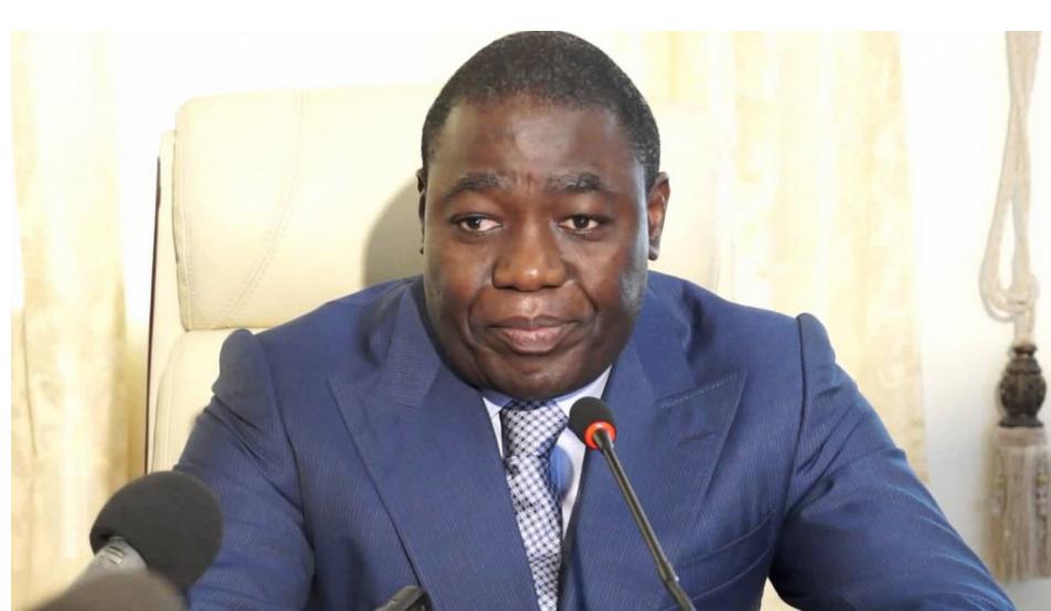 Le ministre d'Etat, en charge de l'économie, des finances, du budget et du portefeuille public, M. Gilbert Ondongo