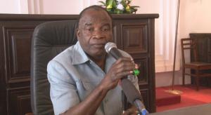 L'administrateur-maire de Makélékélé, Maurice Maurel Kiwounzou