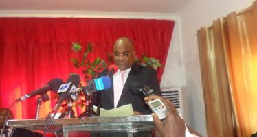 Congo : André Okombi Salissa, candidat à l'élection présidentielle du 20 mars 2016