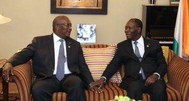 Burkina – Cote d'Ivoire: Ouattara et Kaboré promettent de consolider les relations