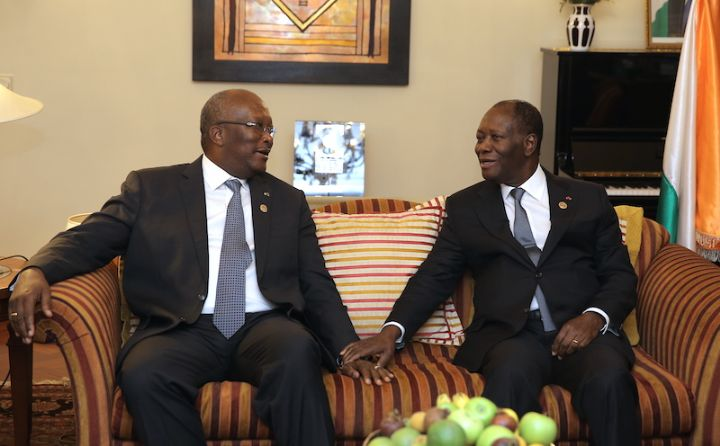 Ouattara et Kaboré