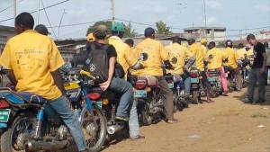 Les taxi-motos | Image d'archive| DR