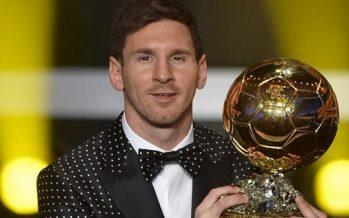 Oups, la FIFA annonce déjà le Ballon d'Or de Lionel Messi