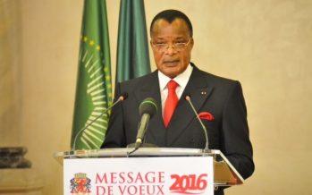 Congo – Vœux de Nouvel an 2016 : Sassou N'Guesso appelle à des élections apaisées