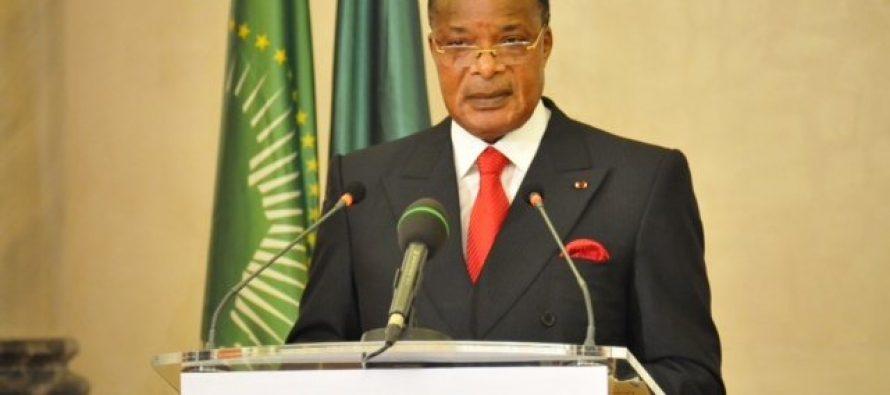 Sassou N'Guesso déplore les actions du terrorisme à travers le monde en 2015