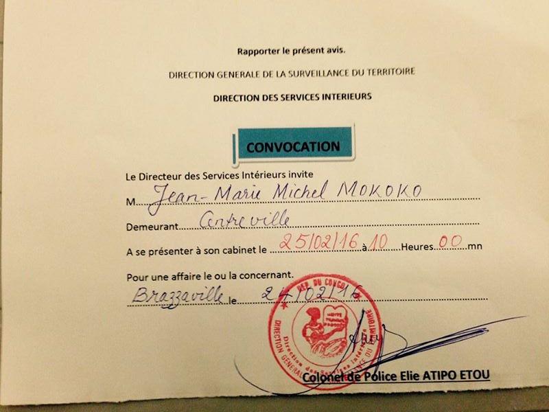 le général Jean-Marie Michel #Mokoko sera de nouveau entendu par la DGST