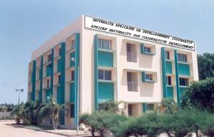 Université africaine de développement coopératif), une université située à Cotonou, au Bénin,