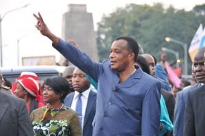 Le président Denis Sassou Nguesso est candidat à l'élection présidentielle du 20 mars 2016. Il l'a annoncé ce vendredi 19 février 2016.