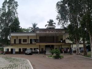 Une vue de la Mairie de Moungali