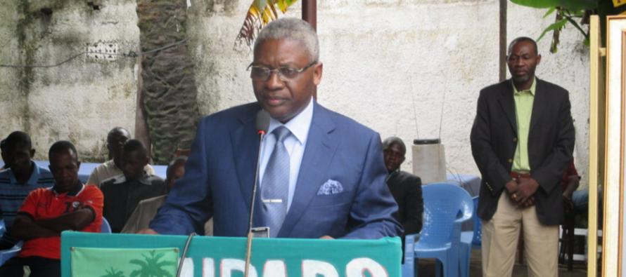 Présidentielle au Congo: Pascal Tsaty-Mabiala désigné candidat de l'UPADS