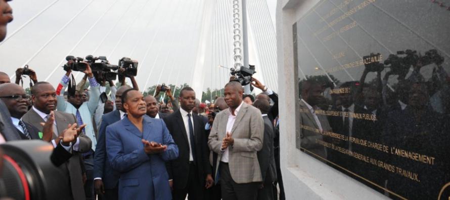Brazzaville : mise en service de la corniche «tronçon case de Gaulle – Ravin du Tchad»