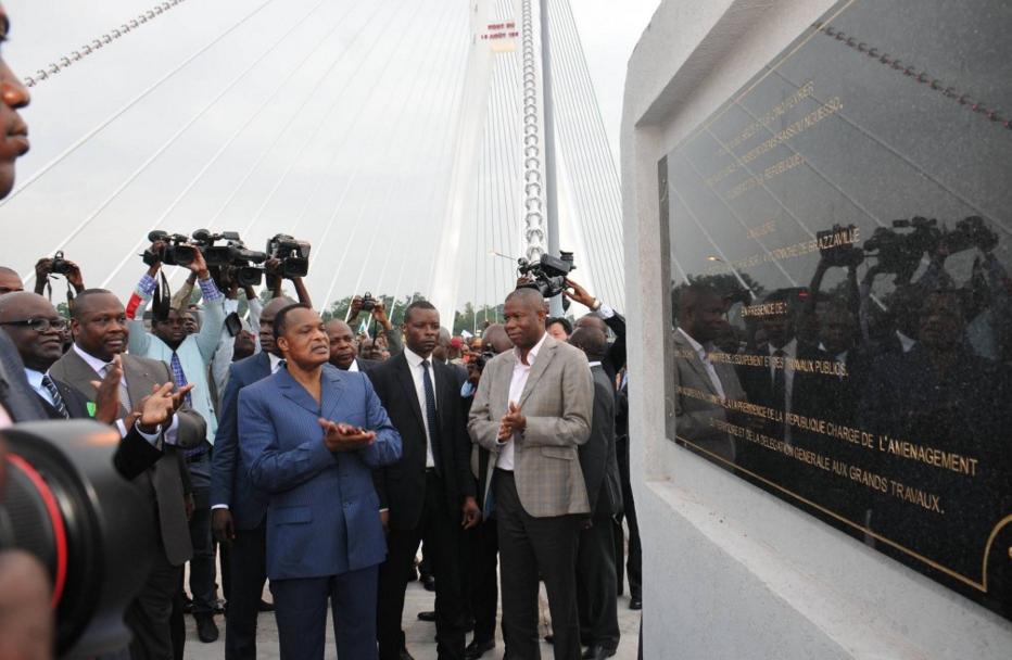 Le Président de la République, M. Denis Sassou-N'guesso a inauguré le 5 février dernier à Brazzaville, la route de la Corniche tronçon Case De Gaulle – Ravin du Tchad
