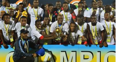 Football: la RDC remporte la 4è édition du CHAN 2016 en battant le Mali (3-0)