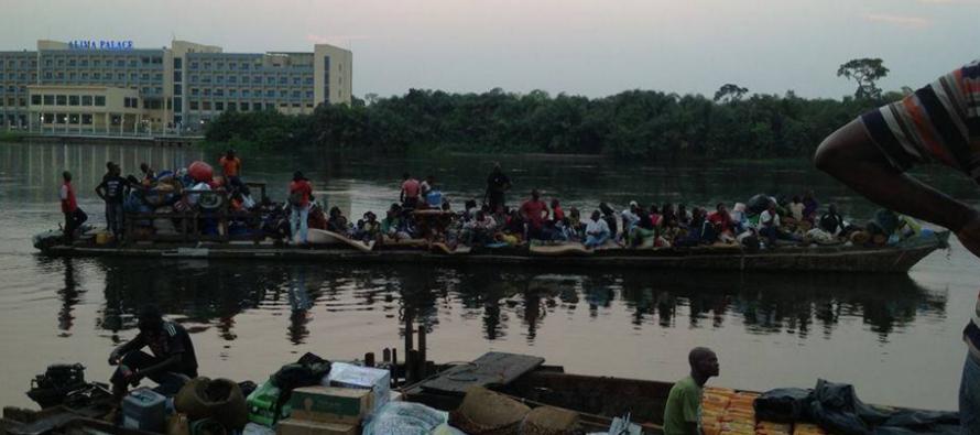Voyager par bateau, c'est le fleuve à boire au Congo!