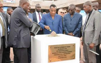 Congo: le président Sassou conforte son image de bâtisseur avant la présidentielle
