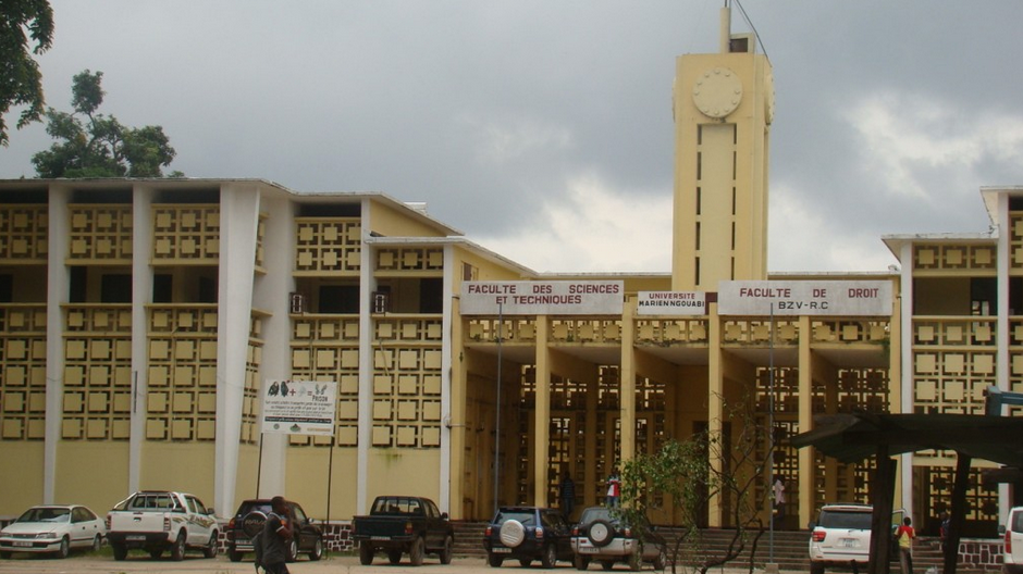 La faculté de droit de l'université Marien-Ngouabi. crédit photos Adiac