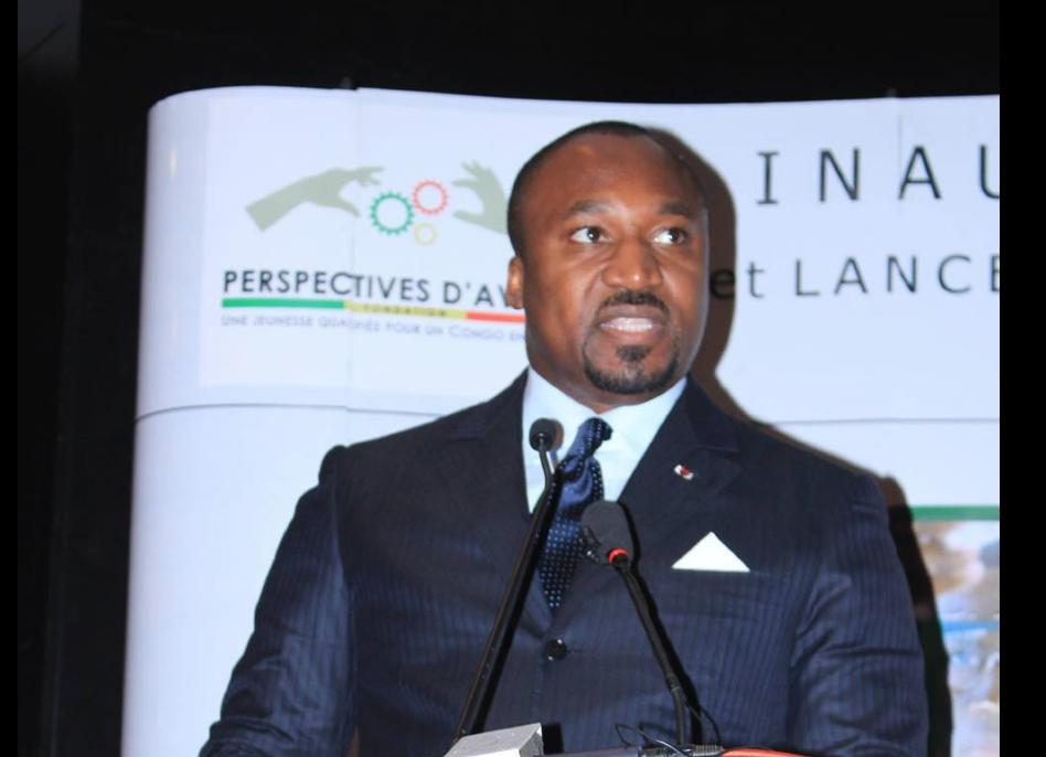 le Président de la Fondation Perspectives d'Avenir Denis Christel Sassou Nguesso