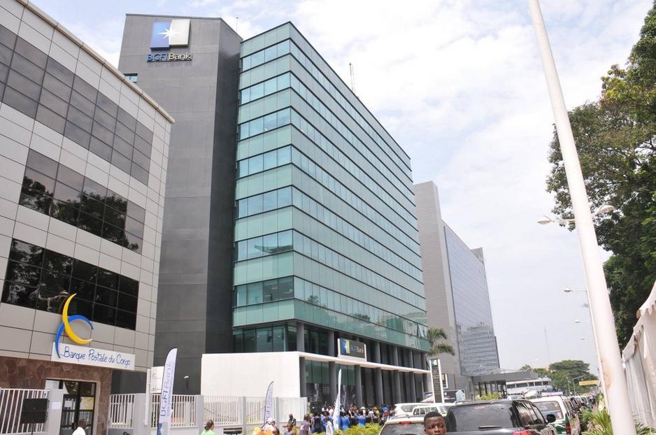 Le nouveau siège de la BGFI Bank-Congo