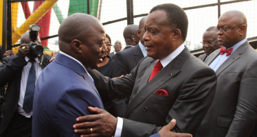 Le chef de l'Etat de la RDC, Joseph Kabila Kabangue en visite à Brazzaville