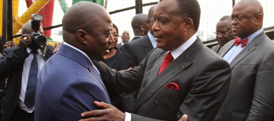 Congo: Denis Sassou Nguesso convie Joseph Kabila à son investiture