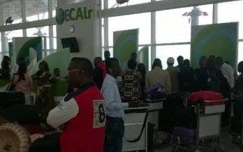 La compagnie aérienne Ecair fait face à des passagers furieux à Brazzaville