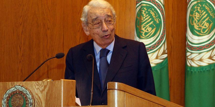 L'ancien secrétaire général des Nations unies Boutros Boutros-Ghali