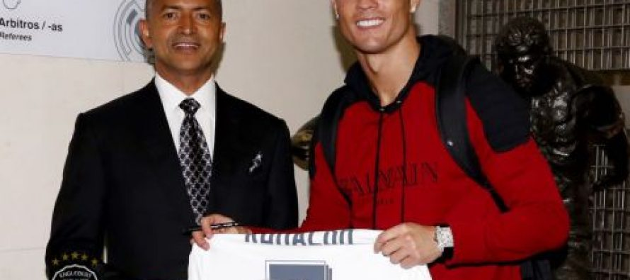 Football : Cristiano Ronaldo dédie son numéro 7 à Moïse Katumbi