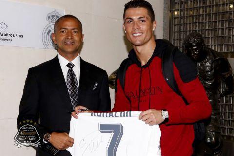 Cristiano Ronaldo dédie son numéro 7 à Moïse Katumbi