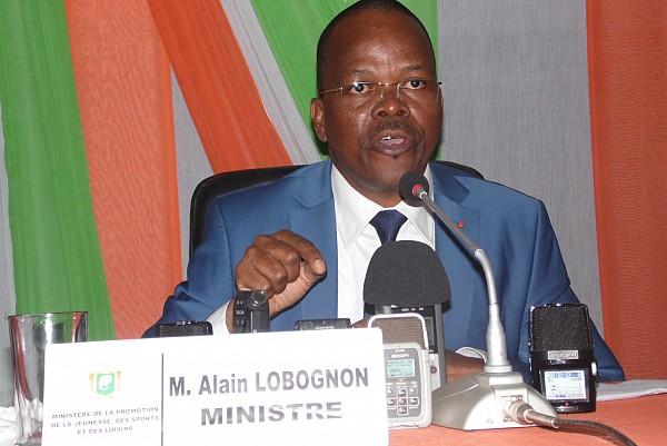 Alain Lobognon, l'ancien ministre des Sports et Loisirs