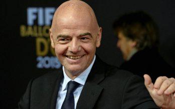 Football: Gianni Infantino est élu président de la FIFA