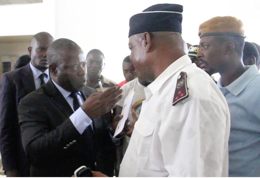 Anguios Nganguia Engambé empêché de faire campagne à Impfondo