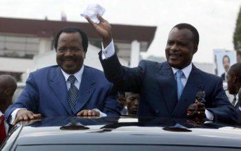 Cameroun : le Président Paul Biya félicite Sassou N'Guesso pour sa réélection