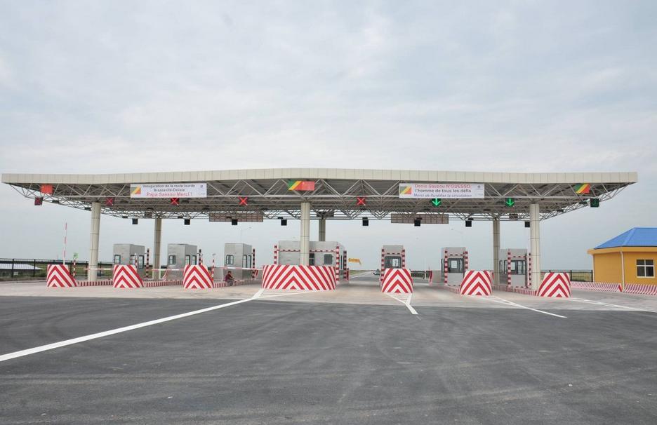 Sassou N'Guesso a inauguré la route Pointe-Noire - Brazzaville (tronçon Dolisie-Brazzaville)