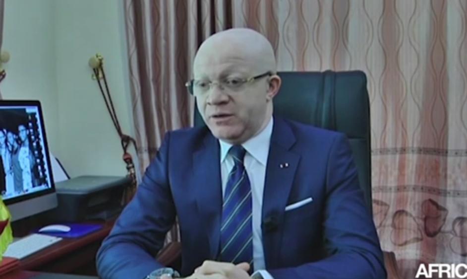 Le Ministre de la Communication et des Médias, porte-parole du gouvernement, Thierry Moungalla|© Capture d'écran/Youtube