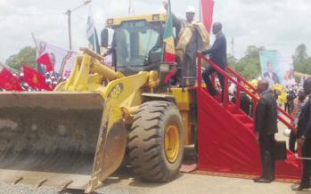 Congo : 450 milliards FCFA pour la municipalisation accélérée de la Bouenza
